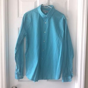 Like New! Express Turquoise Shirt